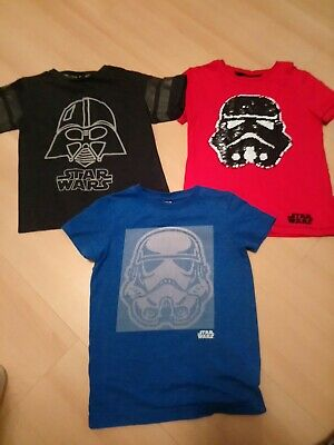 Star Wars T Shirt Bundle 5-6yrs