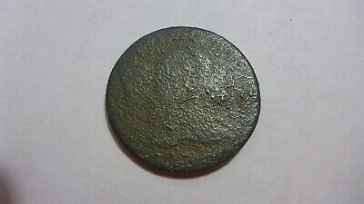 1795 Large Cent Lettered Edge US Coin - Excavated but still a rare coin. NR