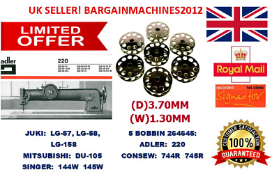 Bobbin #264645 For Singer 144W 145W Class Industrial Sewing Machines