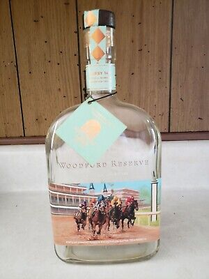 Woodford Reserve Kentucky Derby 141 Bourbon Collectible Bottle with tag