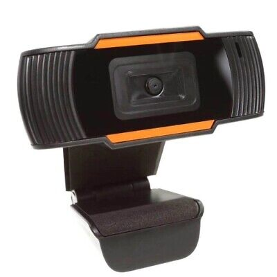 Webcam Con Microfono Usb 2.0 X Pc Videocamera 720P Chiamate Skype Camera