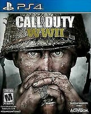 Call of Duty: WWII (Sony PlayStation 4, 2017) DISC IS MINT
