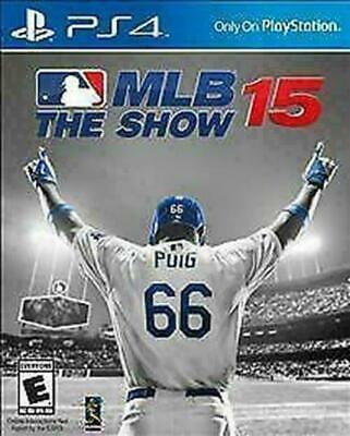 MLB 15: The Show (Sony PlayStation 4, 2015) DISC IS MINT