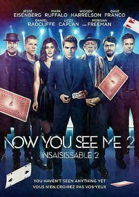 Now You See Me 2 (DVD, 2016, Canadian) BRAND NEW SEALED