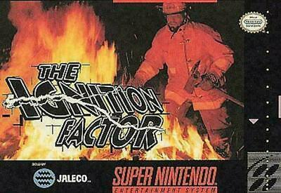 Ignition Factor (Super Nintendo Entertainment System, 1994) GOOD - CART ONLY