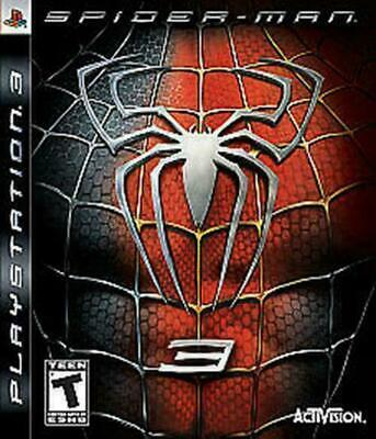 Spider-Man 3 (Sony PlayStation 3, 2007) DISC IS MINT