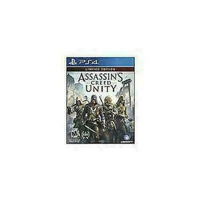Assassin's Creed: Unity -- Limited Edition (Sony PlayStation 4, 2014) DISC MINT