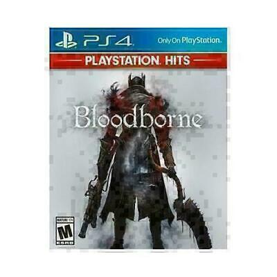 Bloodborne PlayStation Hits (PlayStation 4, 2018) BRAND NEW SEALED