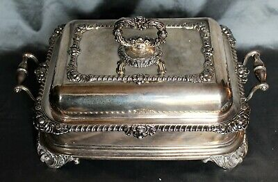 George IV Period Old Sheffield Fusion Plate Covered Entree/Warming Dish c. 1825