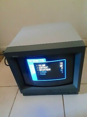 SONY TRINITRON COLOR VIDEO MONITOR PVM-14L1 [CCTV/Gamer Console/ColorCorrection]