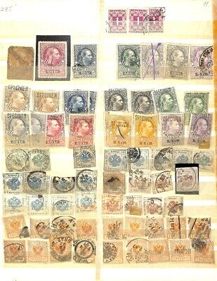 [OP1581] Worldwide lot of stamps on 12 pages
