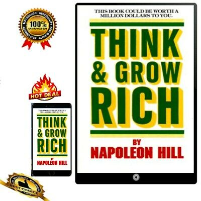 Think and Grow Rich 🎖️📚 🔥🎖️📚. New Fast dispatch
