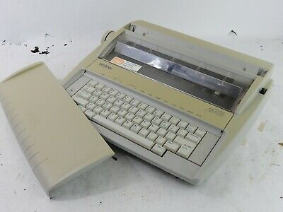 Brother Correctronic GX-6750 Daisy Wheel Electronic Typewriter - Fully Funct.