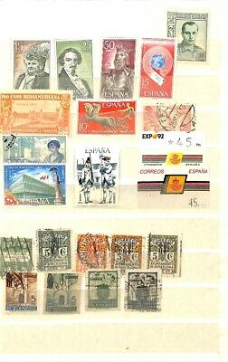 [OP1589] Worldwide lot of stamps on 12 pages