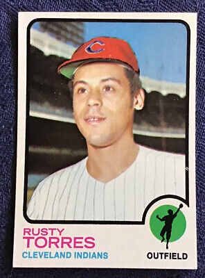 1973 Topps Baseball #571 Rusty Torres NM/MT Very Clean Glossy Surface