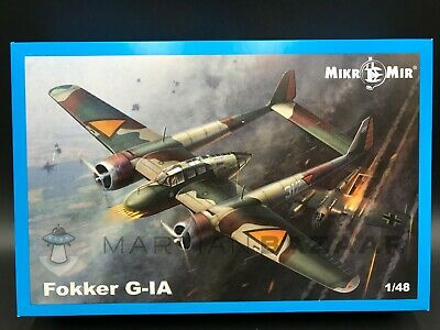 Mikro Mir 1/48 48-016 Fokker G.IA (Ships from Canada!)