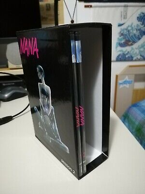 Nana season 2 box + dvd 1 e 2