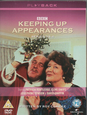 KEEPING UP APPEARANCES - Series 3 & 4 (3 DVD BOX SET)