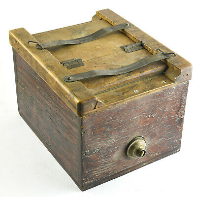 Antique Printing Box - Contact Printing Device