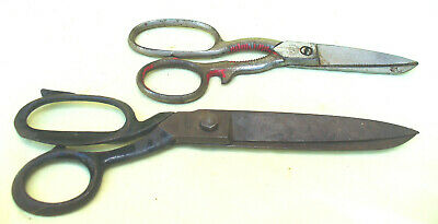 Two vintage pairs scissors - 1 Made in Germany and 1 Sheffield Turton