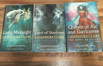 Cassandra Clare The Dark Artifices Series 3 Books Collection Set Free P&P