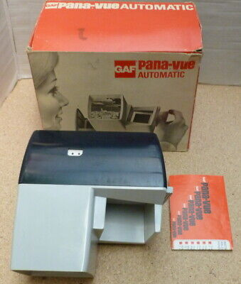 gaf Pana-Vue Automatic Slide Viewer (Boxed)