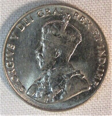 1928 Canada Five Cents   VERY HIGH GRADE!