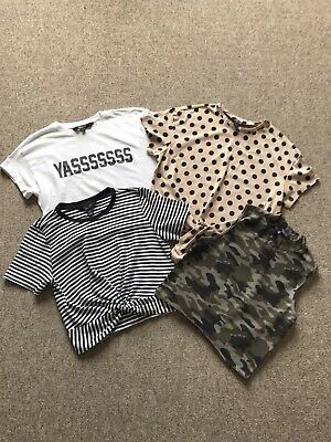 Small Bundle Girls / Teens T-Shirts 915 Generation at New Look Age 12 - 13 Years