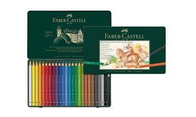Faber Castell Watercolour Albrecht Dürer Magnus 24 Pencil And Brush Tin FC116924