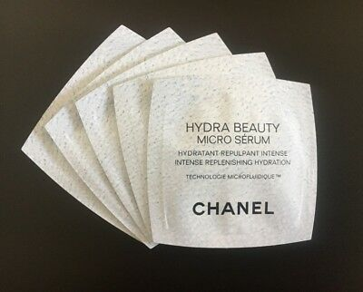CHANEL HYDRA BEAUTY MICRO SERUM x 20 doses valeur 48,50 € !!!!