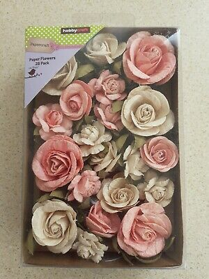 Hobbycraft Paper Flowers - Fiona - Pearly Peony 28pk