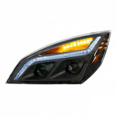 Blackout LED Projection Headlight For 2018+ Freightliner Cascadia - Driver