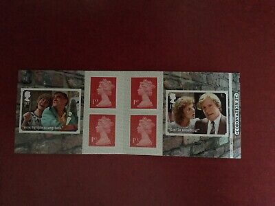 Stamp Booklets Coronation Street 2020 Booklet With Cylinder No's