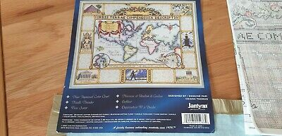 cross stitch kit Wonders of the world