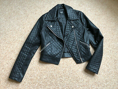 Girls New Look 915 Faux Leather Jacket 10-11 Years