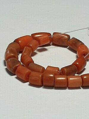 27 Antique Coral Beads.