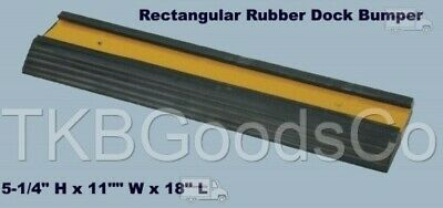 "Loading Dock Bumper 18"" Long Rubber Warehouse Trailer Truck Wall Protection"