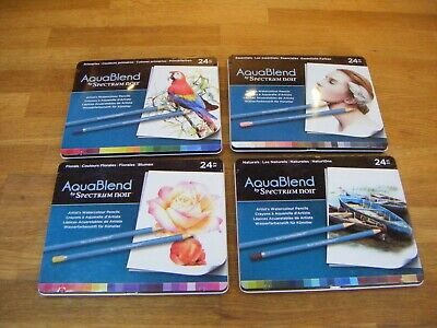 4 boxes of unused Spectrum Noir Spectrum Noir 'Aquablend' pencils