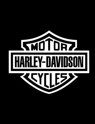"Harley Davidson Vinyl Decal Stickers (2 Pack)  5"" X 4"" FREE Shipping"