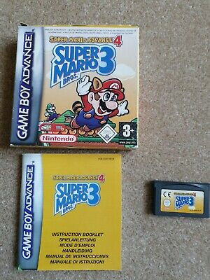 Super Mario Bros. 3 SUPER MARIO ADVANCE 4 NINTENDO  GAME BOY ADVANCE BOXED GBA