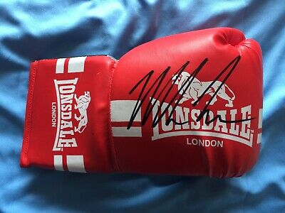 A Genuine Lonsdale Glove Signed By Mike Tyson 1