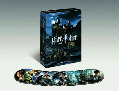 Harry Potter The Complete 8-Film Collection (DVD,2011, 8-Disc Set)