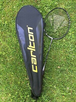 Carlton Badminton racket, with cases (Used)