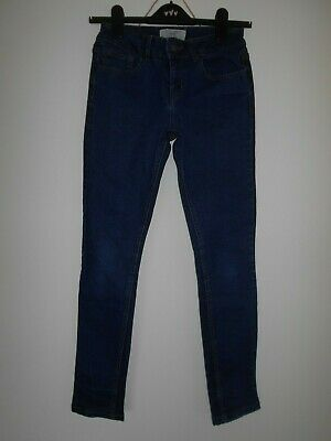 NEW LOOK 915 GENERATION girls jeans age 12 years Navy blue denim slim skinny