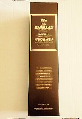 Macallan Edition No.1 Empty Box
