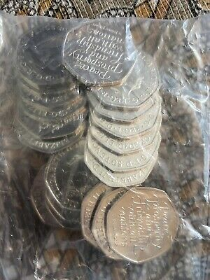 10 X SEALED bags of Brand new brexit 50p Fifty Pence coins UNCIRCULATED.