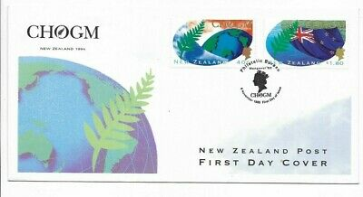 New Zealand - First Day Cover - 1995 - CHOGM