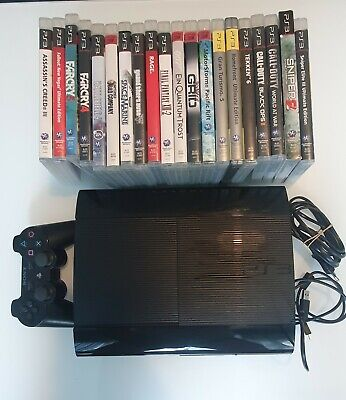 Sony Playstation 3 Super Slim 500GB Schwarz Spielekonsole