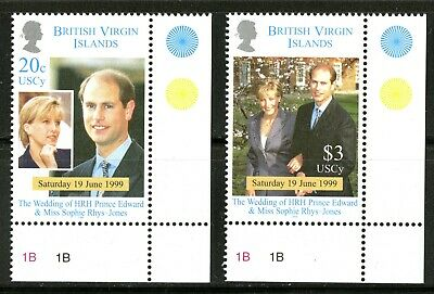 Virgin Islands   1999   Scott #908-909   Mint Never Hinged Set