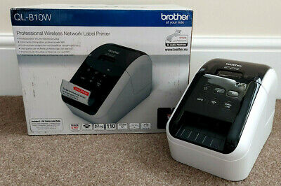 Brother QL810W Professional Wireless & PC Connected Label Printer